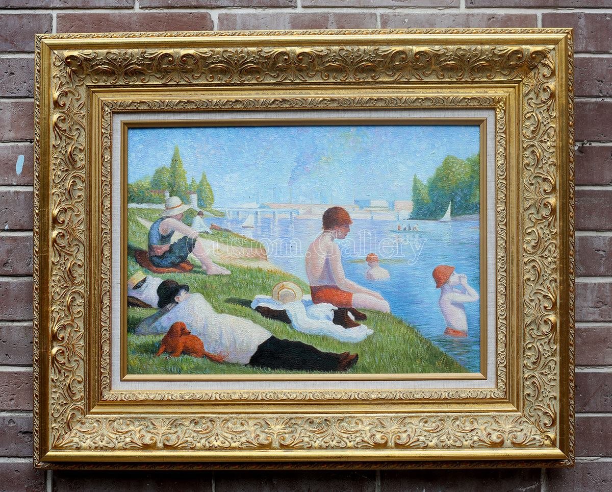Georges Seurat Oil Painting Reproduction