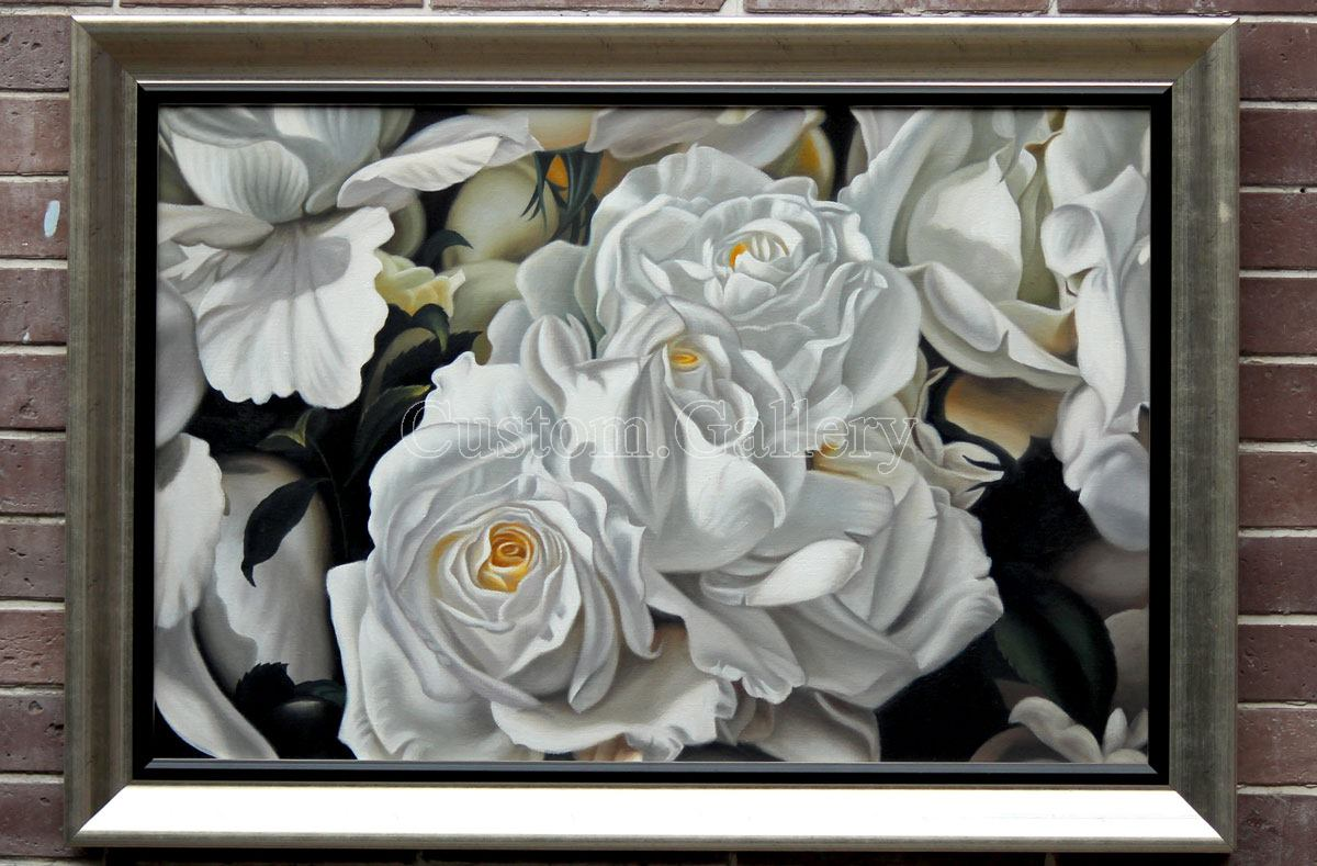 Realism Flower Painting from Photo