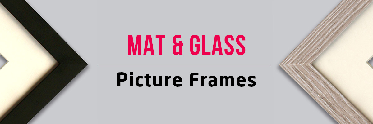 Frame with Mat & Glass